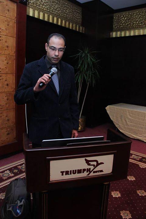 د.محمد خلال خلال كلمته فى الندوه
