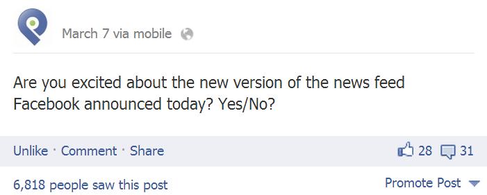 طريقه طرح سؤال سريع لزياده التفاعل فى فيس بوك
